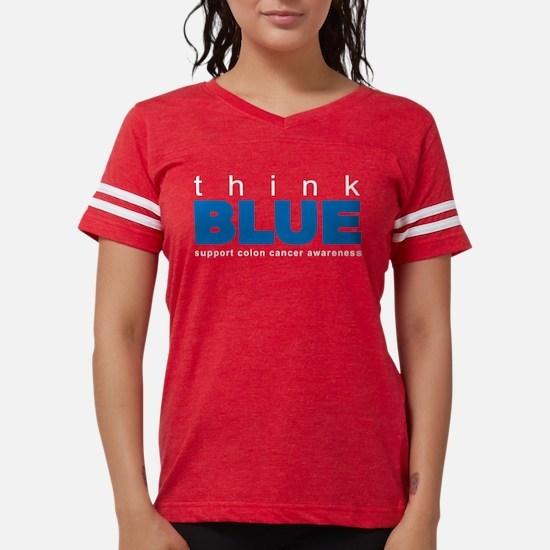 think BLUE Women's Dark T-Shirt