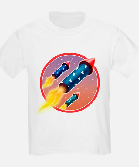 Flying Firecrackers Kids T-Shirt