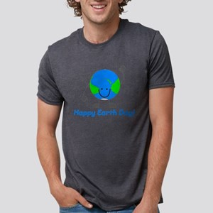 Globe Emoticon Happy Earth Day - Keep Eart T-Shirt