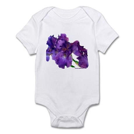 Purple Iris Infant Creeper