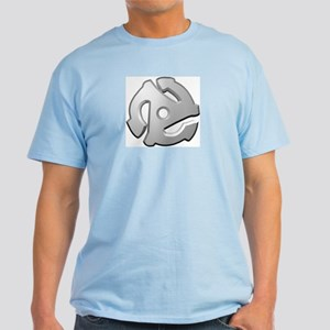 45 RPM Adapter DJ Logo Ash Grey T-Shirt