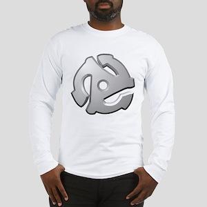 45 RPM Adapter DJ Logo Long Sleeve T-Shirt