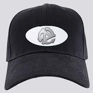 45 RPM Adapter DJ Logo Black Cap