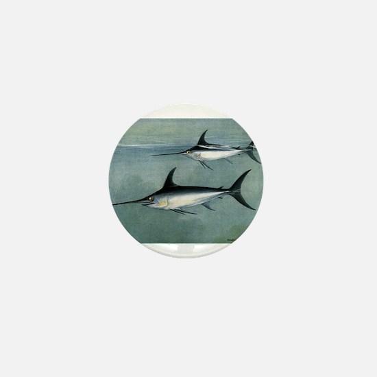 Swordfish Mini Button