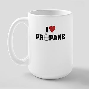 I Love Propane Large Mug