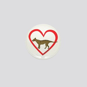 Heart Taz Mini Button (10 pack)