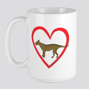 Heart Taz Large Mug