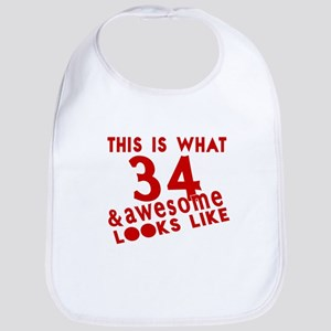 This Is What 34 And Awesome Look L Cotton Baby Bib