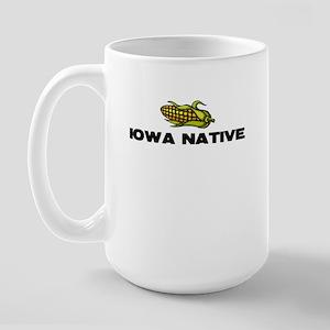 Iowa Native Large Mug