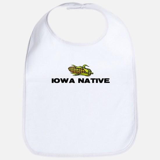 Iowa Native Bib