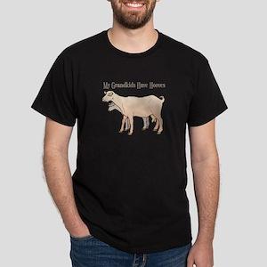 My Grandkids Have Hooves Dark T-Shirt