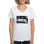 The Old Days Women's V-Neck T-Shirt