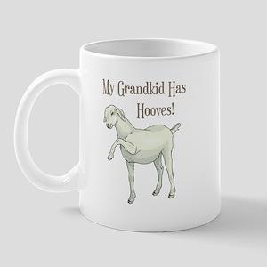 My Grandkid Has Hooves Mug