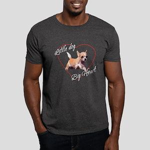 Chihuahua Heart Dark T-Shirt