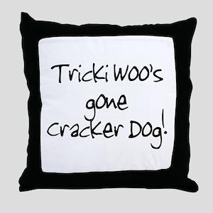Tricki Woo Throw Pillow