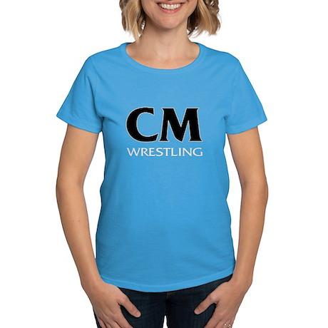 CM Wrestling 11 Women's Dark T-Shirt