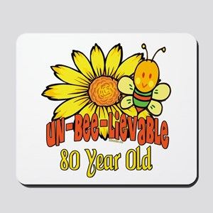 Un-Bee-Lievable 80th Mousepad