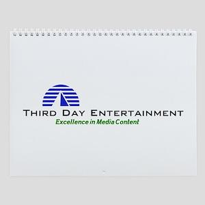 Third Day Entertainment TV Wall Calendar