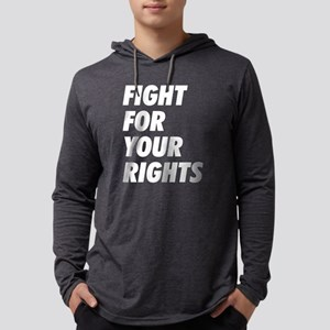 Fight For Your Rights Mens Hooded Shirt