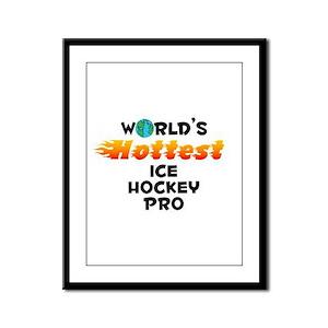 World's Hottest Ice H.. (C) Framed Panel Print