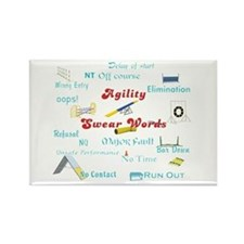 Agility Swear Words Magnets