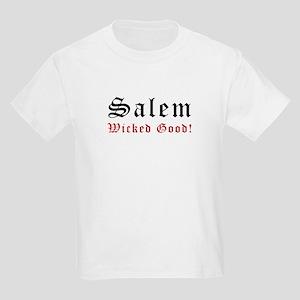 Salem MA Wicked Good Kids Light T-Shirt