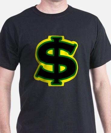 Dollar Sign Jamaican T-Shirt