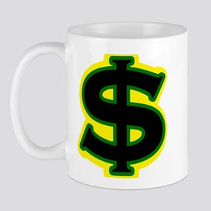 Dollar Sign Jamaican Mug