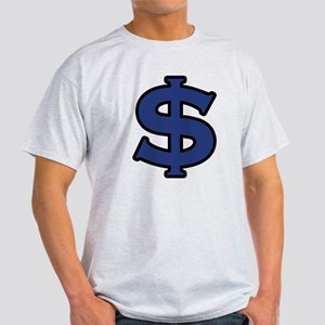 Dollar Sign Blue Black Light T-Shirt