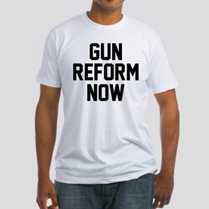 Gun Reform Now Fitted T-Shirt