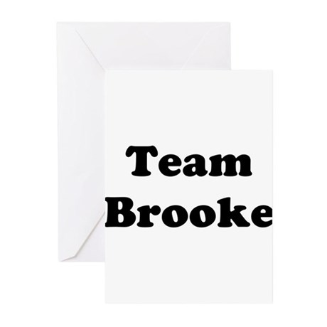 Team Brooke Greeting Cards (Pk of 10)