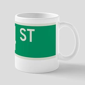 114th Street in NY Mug