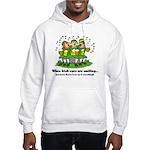 Irish eyes are smiling Hooded Sweatshirt