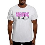 USMC Aunt x2 Light T-Shirt