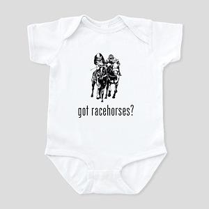 Racehorses Infant Bodysuit