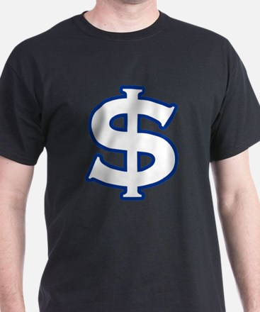 Dollar Sign Blue T-Shirt
