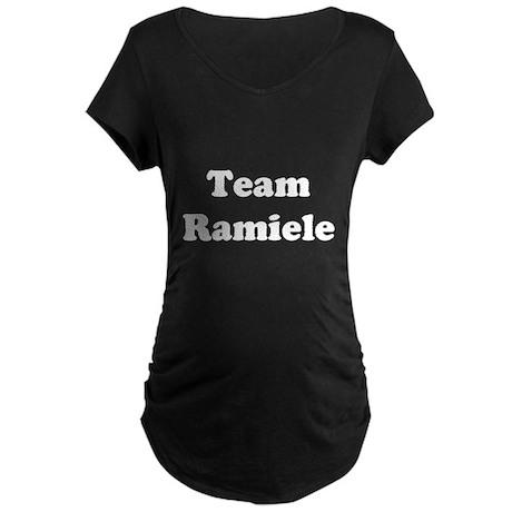 Team Ramiele Maternity Dark T-Shirt