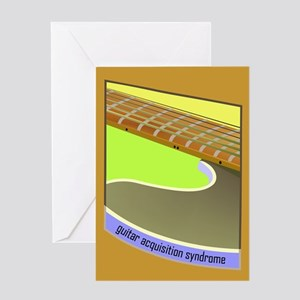 Acoustic/Electric G.A.S. Guit Greeting Card