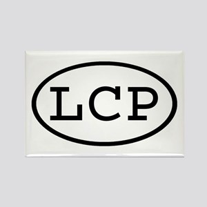 LCP Oval Rectangle Magnet