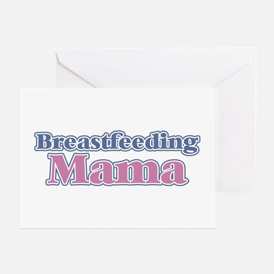 Breastfeeding Mama Greeting Card