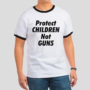 Protect Children Not Guns Ringer T