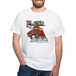 CUDA White T-Shirt