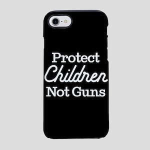Protect Children Not Guns iPhone 8/7 Tough Case