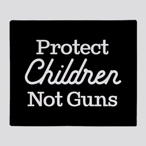 Protect Children Not Guns Throw Blanket