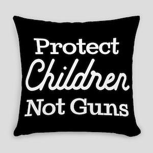 Protect Children Not Guns Everyday Pillow