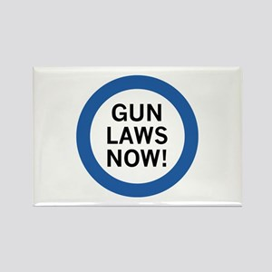 Gun Laws Now! Rectangle Magnet