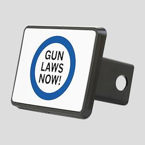 Gun Laws Now! Rectangular Hitch Cover