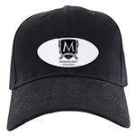 Moorhurst College Baseball Black Cap With Patch