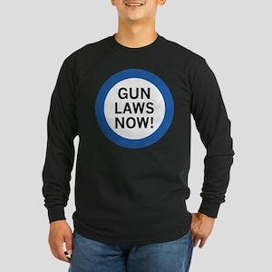 Gun Laws Now! Long Sleeve Dark T-Shirt