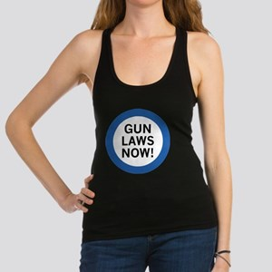 Gun Laws Now! Racerback Tank Top